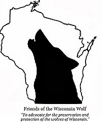 Friends of the Wisconsin Wolf logo